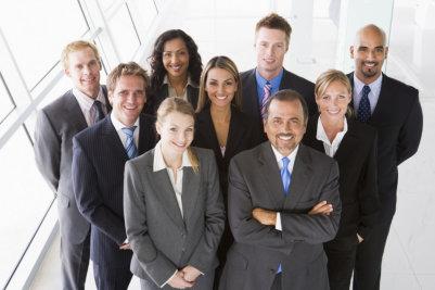 portrait of professionals